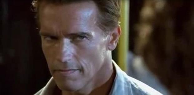 Кадр из фильма Джеймса Кэмерона True lies.